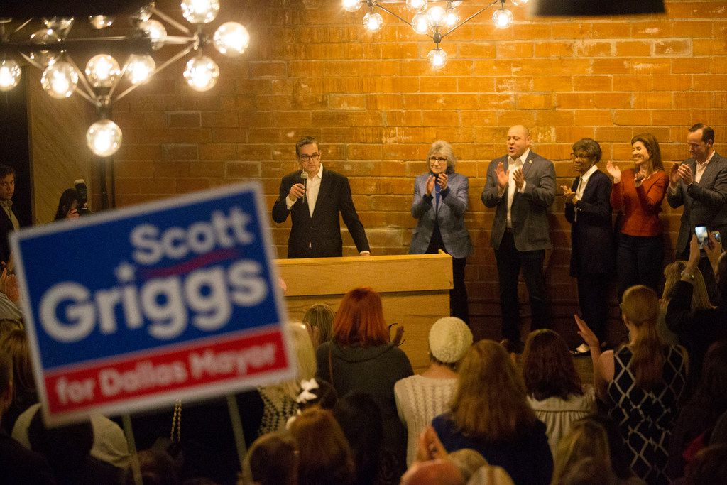 Dallas City Council member Scott Griggs announced Jan. 10 that he planned to run for mayor.