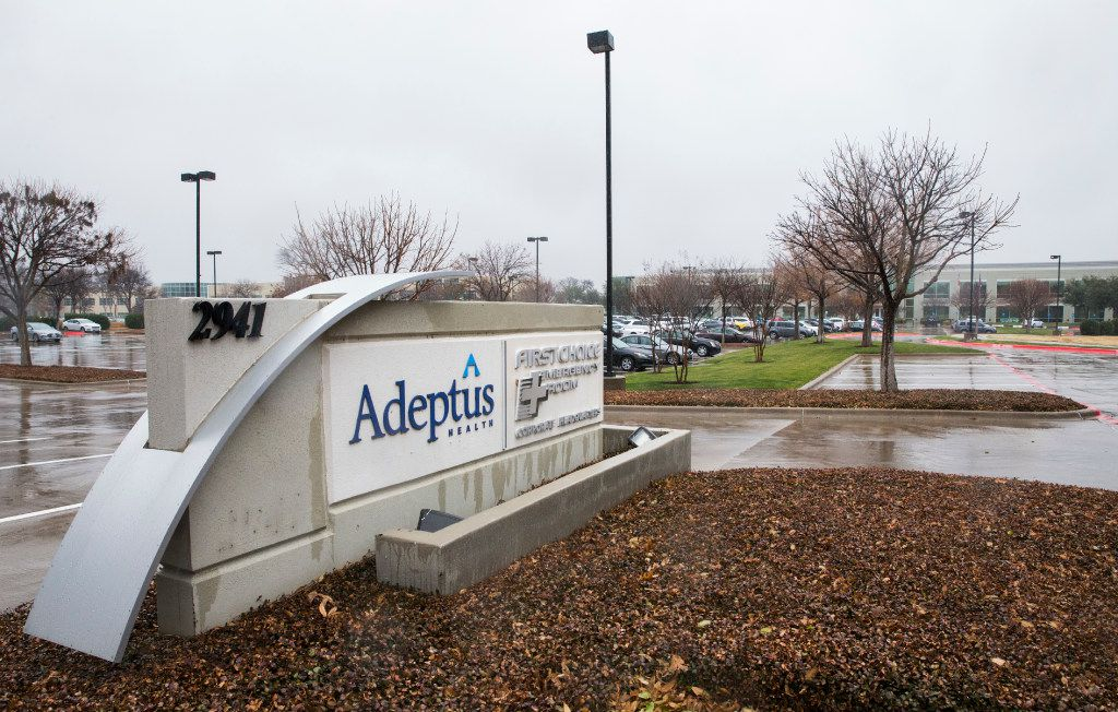 Adeptus Health Headquarters on Friday, January 13, 2017 at 2941 Lake Vista Drive in Lewisville, Texas. Adeptus Health is the largest operator of freestanding emergency rooms in the U.S. (Ashley Landis/The Dallas Morning News)