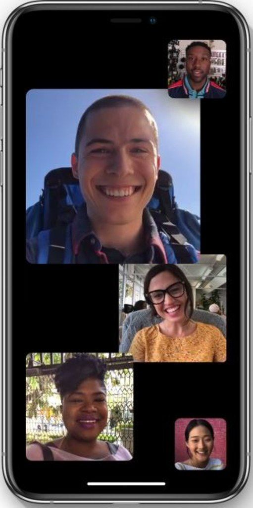 Group Facetime, coming later this fall, will let you video chat with up to 32 people.