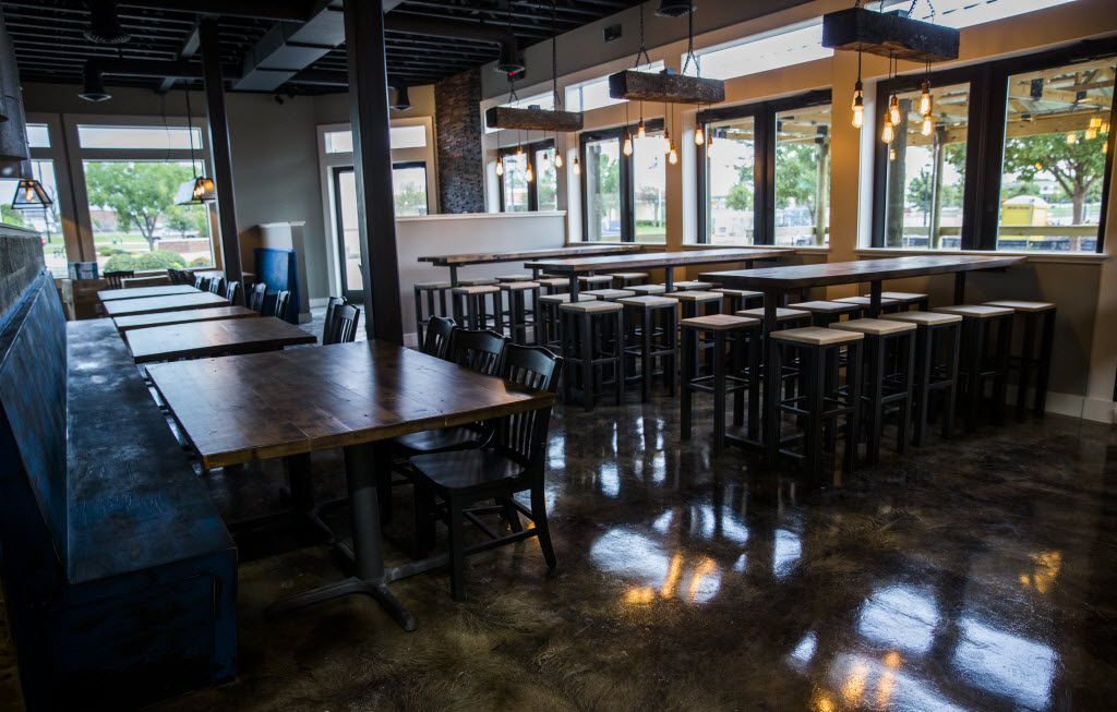 The interior of Bankhead Brewing Co. on Friday, August 19, 2016 on Main St. in Rowlett.