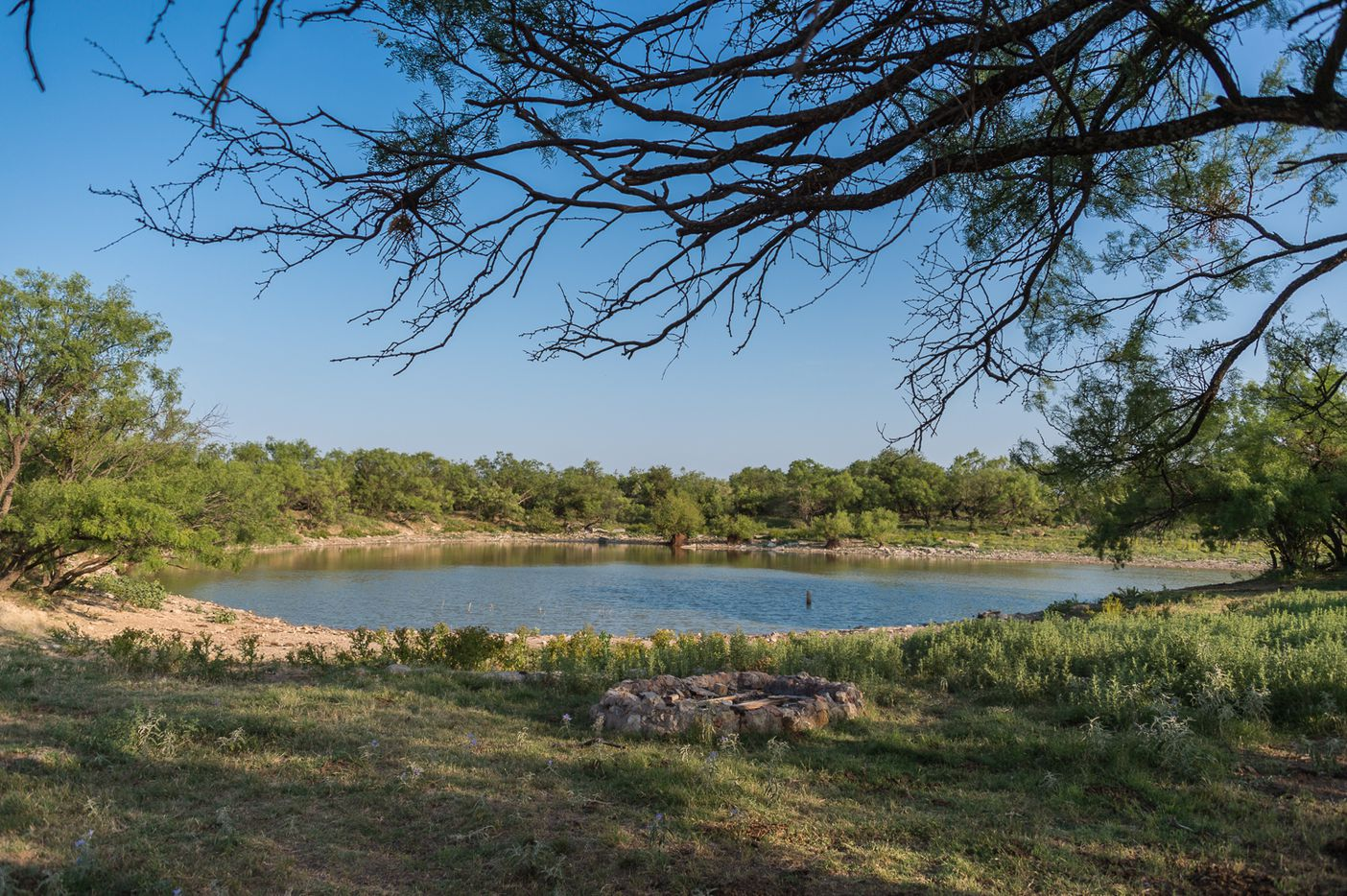 The Comanche Crest Ranch has more than two dozen lakes and stock ponds.
