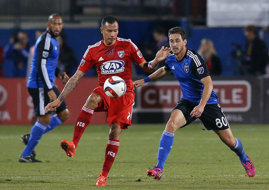 Blas Pérez jugó cuatro años con el FC Dallas. Ahora es comentarista en Univision Deportes.  (Ronald Martinez/Getty Images)
