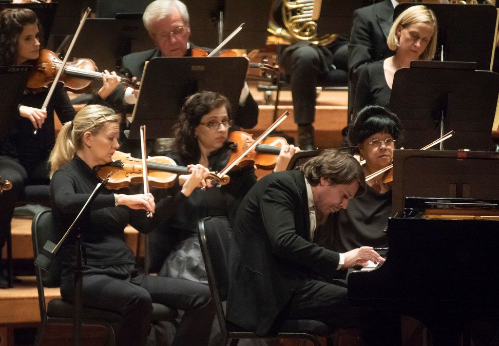 Pianist David Fray performs with the Dallas Symphony Orchestra in Beethoven's Third Piano Concerto.