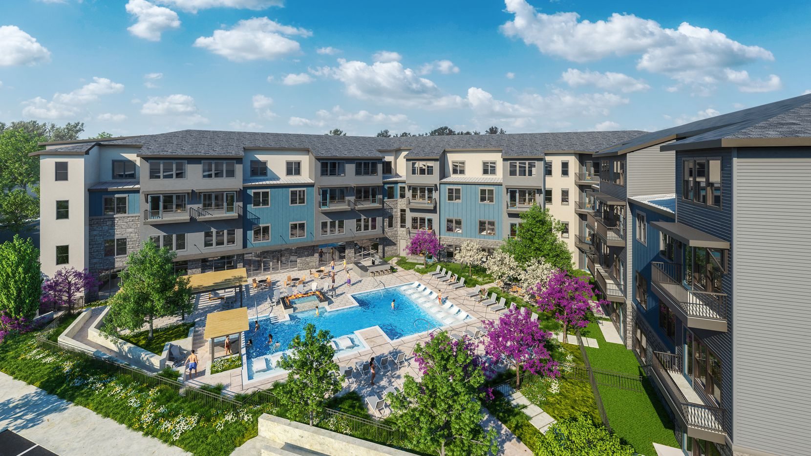 The Jefferson Texas Plaza apartments will have 282 units.