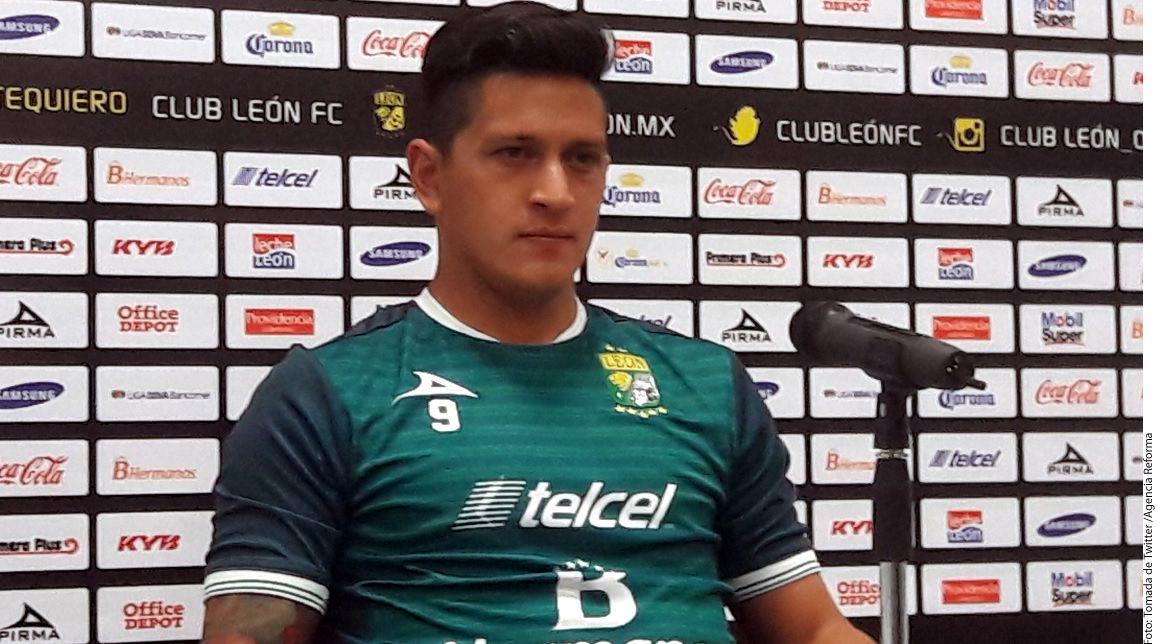 Germán Cano, delantero de León, aseguró que La Fiera tiene con qué superar a Tijuana en su estadio, pero que no se confían pese al 3-0 obtenido en la ida de los Cuartos de Final./AGENCIA REFORMA