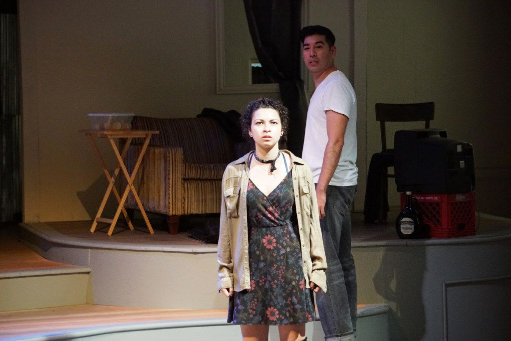 The cast of De Troya performed a dress rehearsal at Arts Mission Oak Cliff.