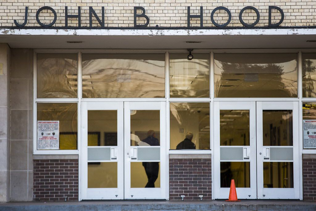 John B. Hood Middle School in DISD was named for Confederate Civil War general John Bell Hood.