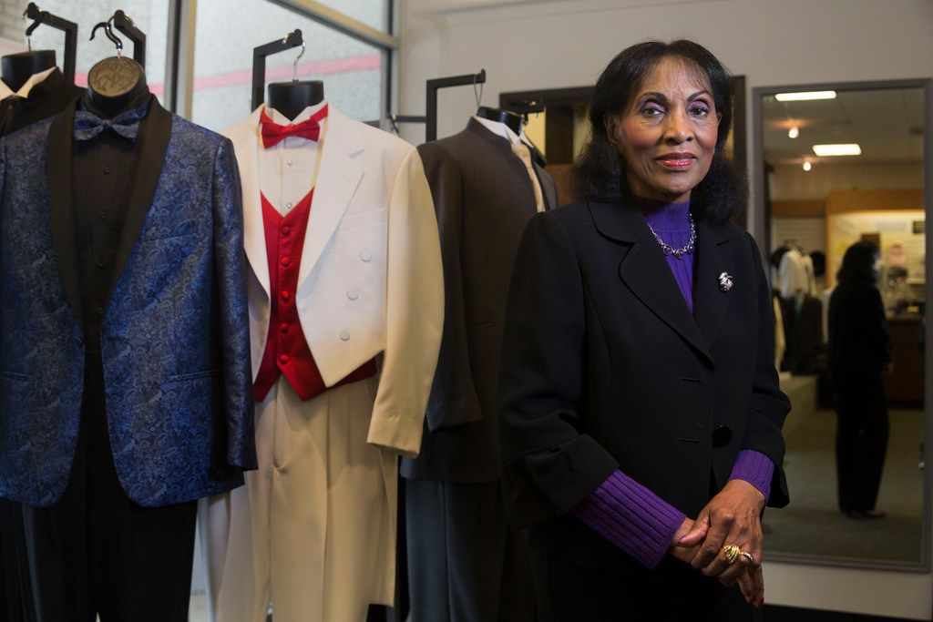 Joan Ingram will continue to run the Mr. Formal business.