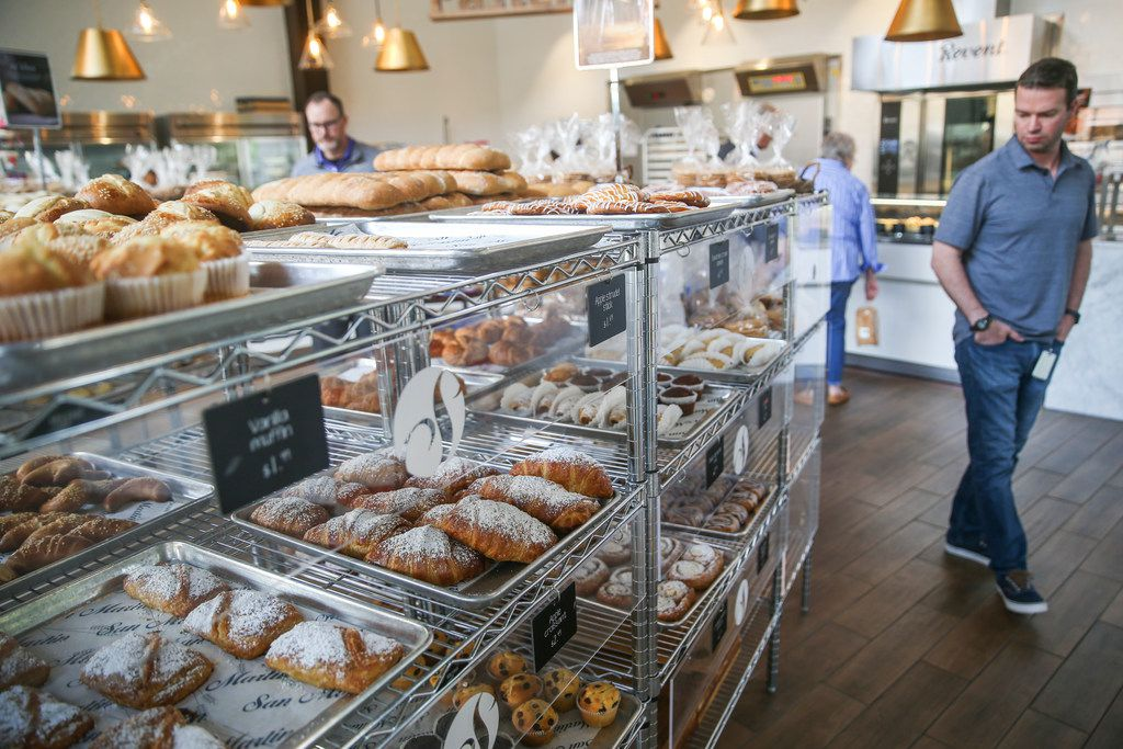 The bakery area