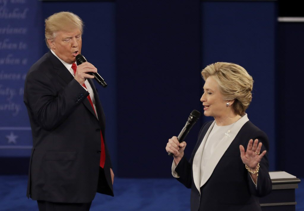El tercer debate entre los candidatos a la presidencia se llevará a cabo el miércoles. /AP