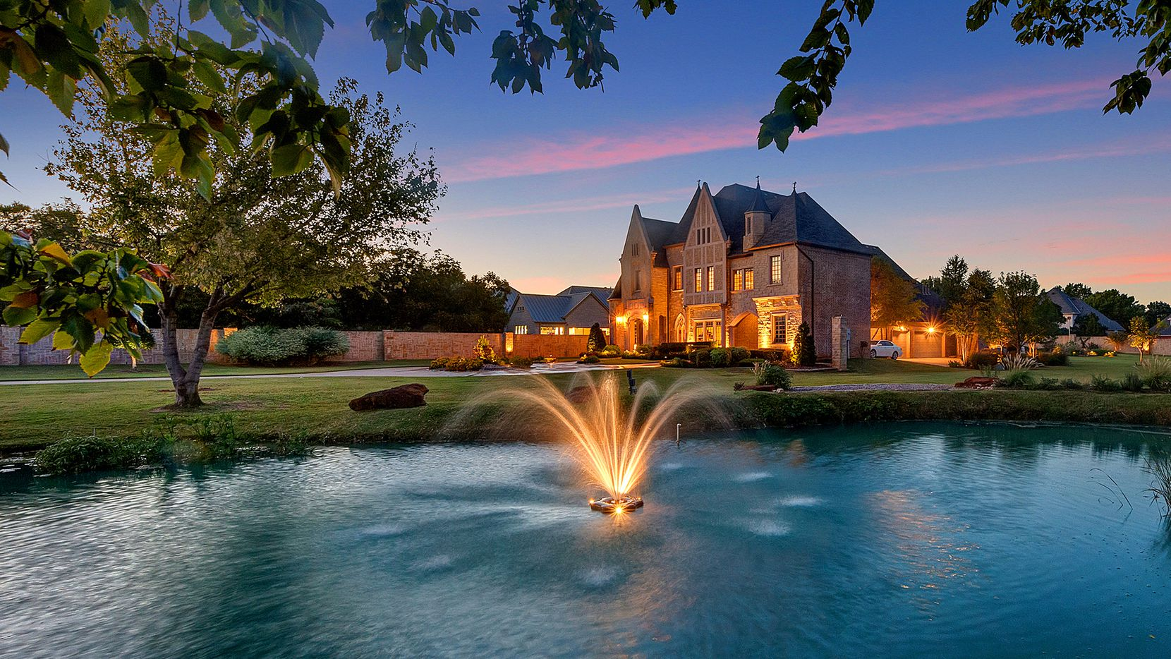 Bidding for the 7,216-square-foot estate at 2404 Glade Road in Colleyville will be held Nov. 12 to 15. It will auction with a reserve of $1.9 million in cooperation with Kimberly Holt of Ebby Halliday Realtors' Southlake office.