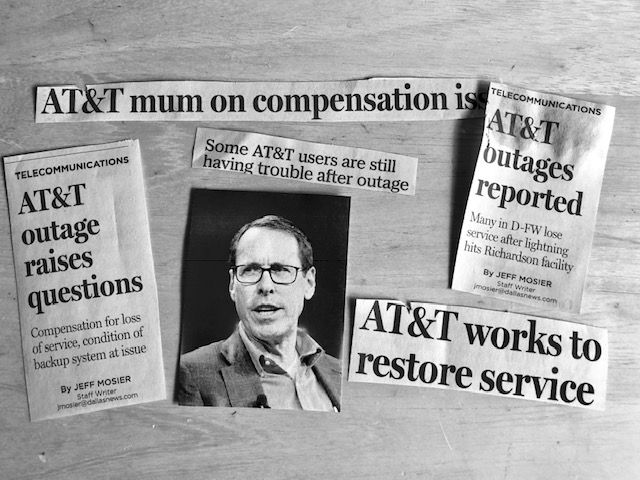 Randall Stephenson is the CEO/chairman/president of AT&T. So who gives him a job evaluation? The Watchdog!