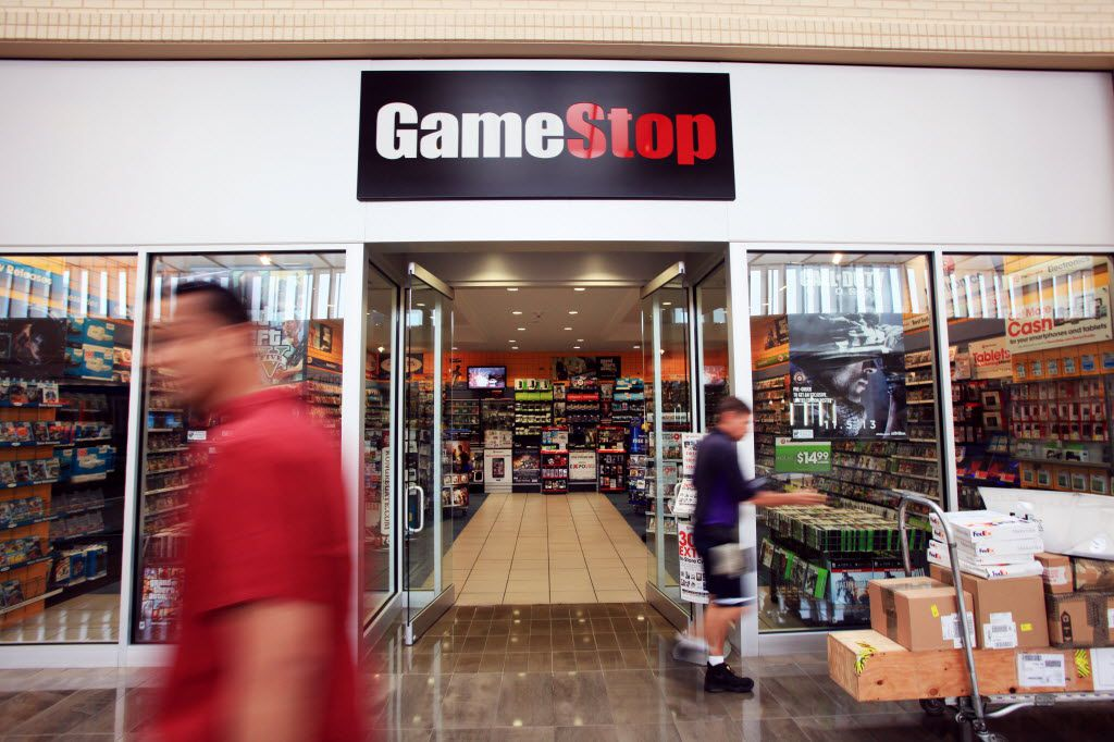 NorthPark Center GameStop store front, on May 23, 2013 in Dallas.