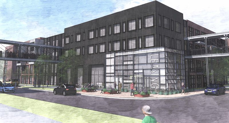 High Street Residential and Olympus Property are building the new apartment project.