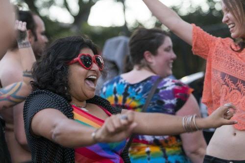 """El año anterior la fiesta """"Queer Dance Freakout"""" se realizó para oponerse a la ley de baño. (ESPECIAL PARA DMN/STEPHEN SPILLMAN)"""