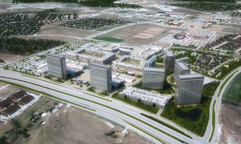 The $2 billion Wade Park project in Frisco is no longer scheduled for foreclosure.