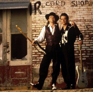 Stevie Ray and Jimmie Vaughan