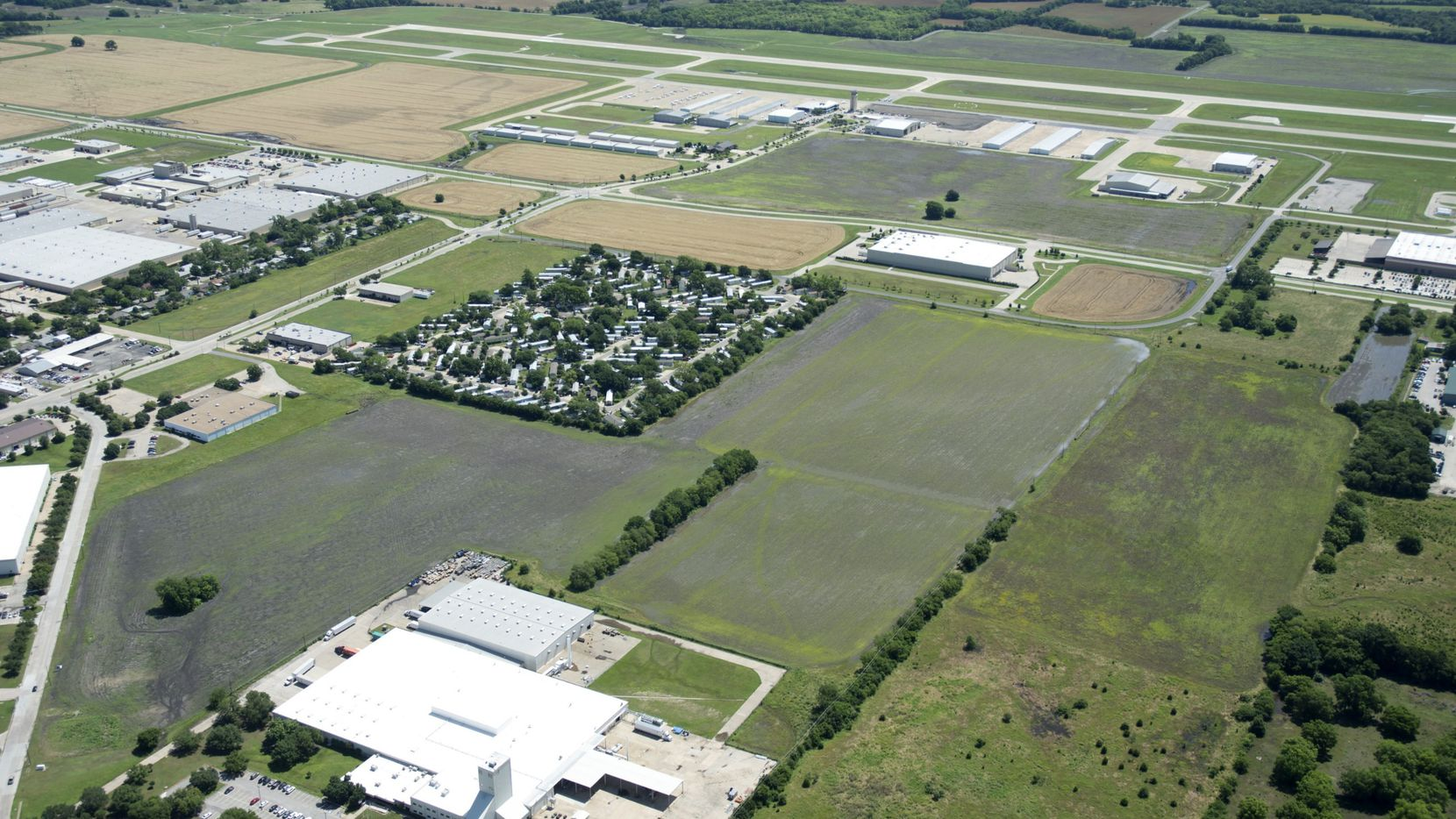 Houston-based Sentinel Capital purchased 37 acres for an industrial park at McKinney National Airport.