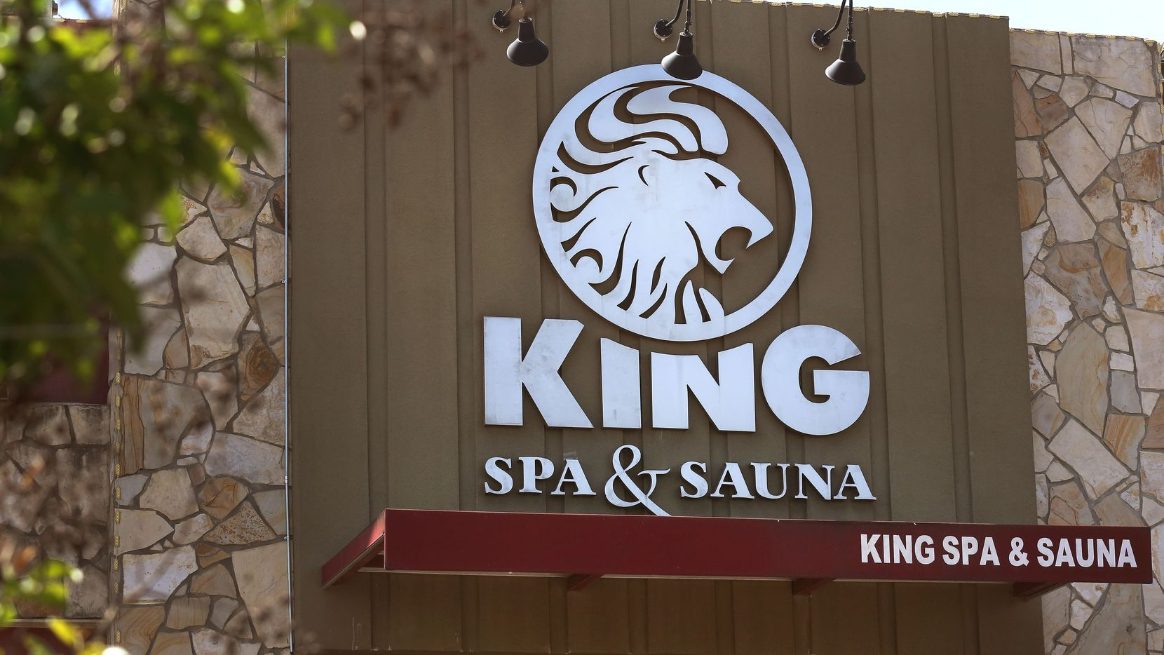 The King Spa and Sauna at 2154 Royal Lane in Dallas, photographed on Saturday, April 8, 2017. (Louis DeLuca/The Dallas Morning News)