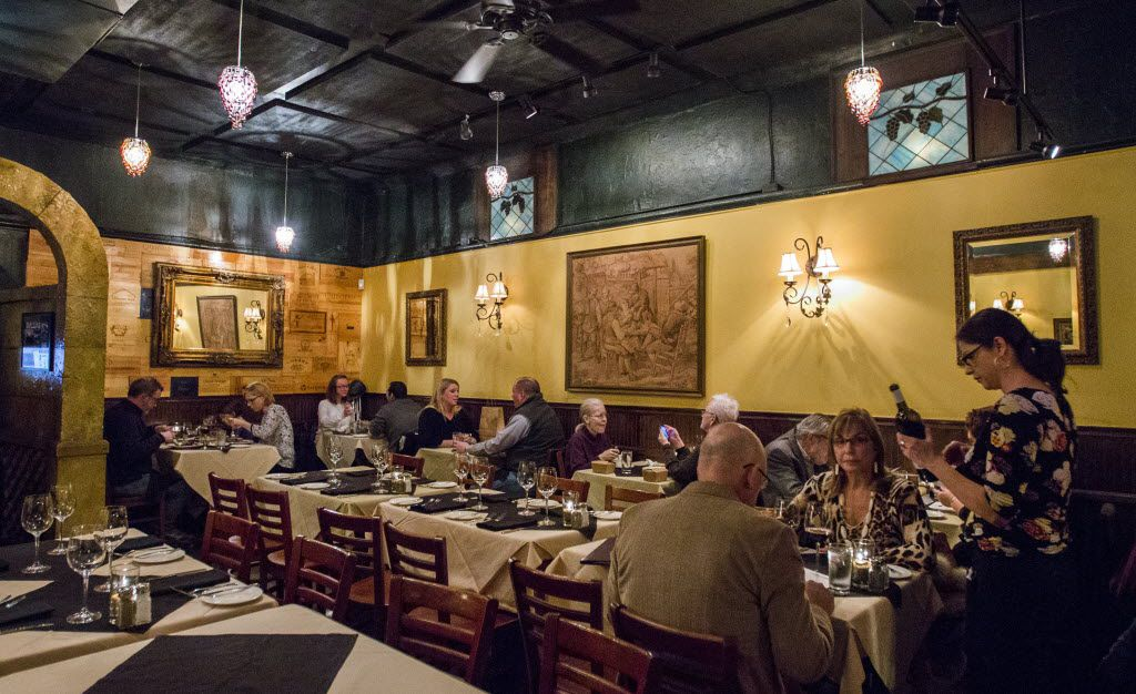 The dining room of The Grape restaurant on Wednesday, February 4, 2015 in Dallas.   (Ashley Landis/The Dallas Morning News)