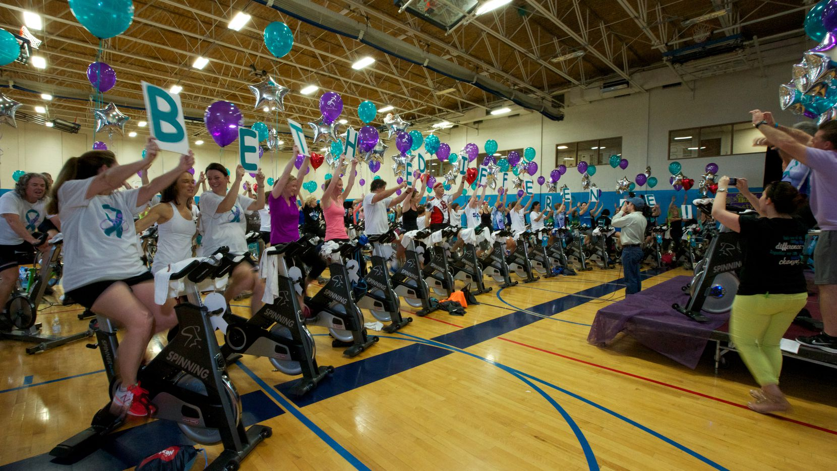 Five years ago, Wheel to Survive, a fundraiser to help fight ovarian cancer, started at Dallas' Jewish Community Center. It has since spread to cities across the U.S. and has raised $1.6 million.