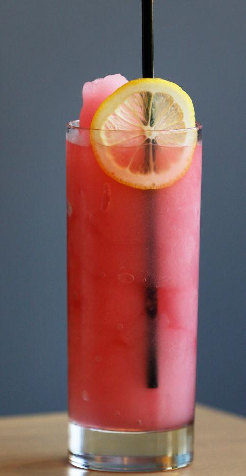 Frozen pink lemonade at Earls Kitchen + Bar in Legacy West, in Plano