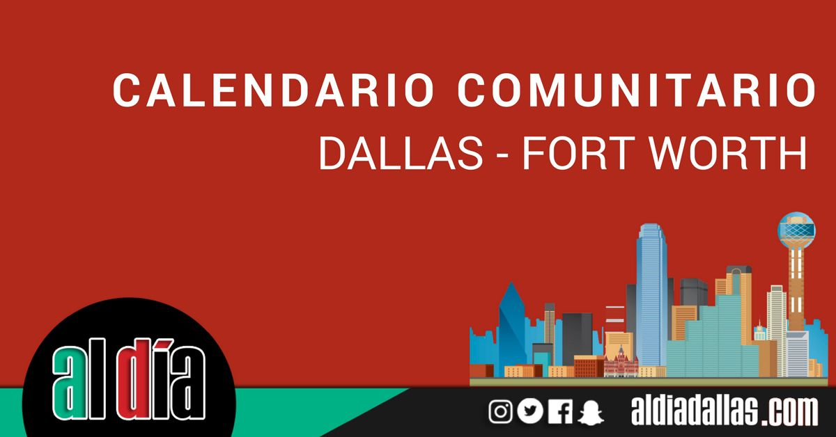 Eventos comunitarios en Dallas – Fort Worth.