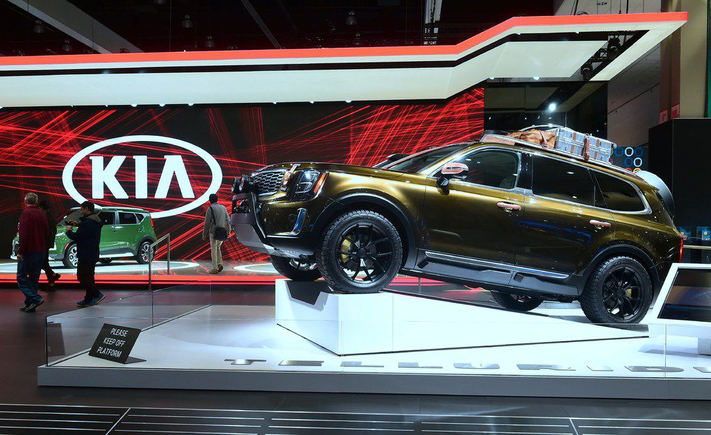 Due out in 2019, Kia's Telluride luxury SUV made an appearance in November at the LA Auto Show.