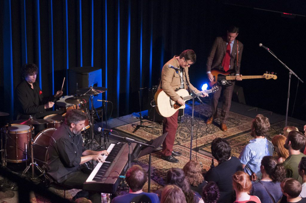 The Mountain Goats play to a sold out audience at The Kessler Theater on Monday, June 8, 2015.