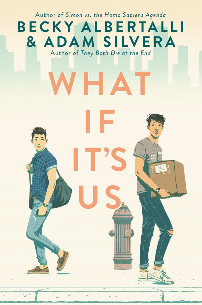 YA authors Becky Albertalli and Adam Silvera co-wrote 2018's What If It's Us.