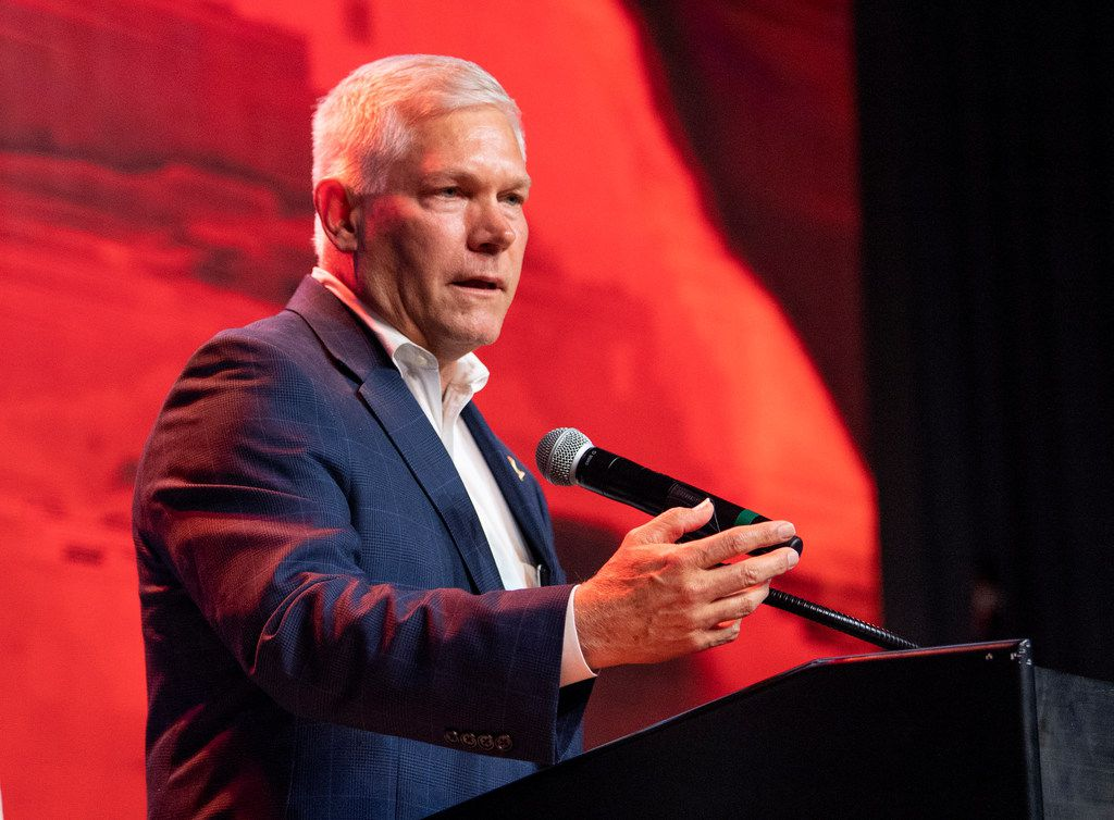 Republican  Pete Sessions lost  the U.S. House seat he'd held since 2003 to d first-time candidate Colin Allred last year.