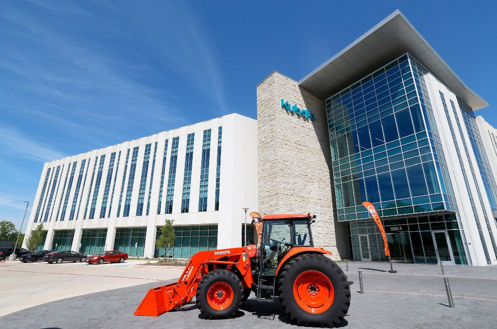 Exterior shot of the new Kubota Tractor Corp. headquarters in Grapevine, Texas, Friday, April 7, 2017.(Jae S. Lee/The Dallas Morning News)