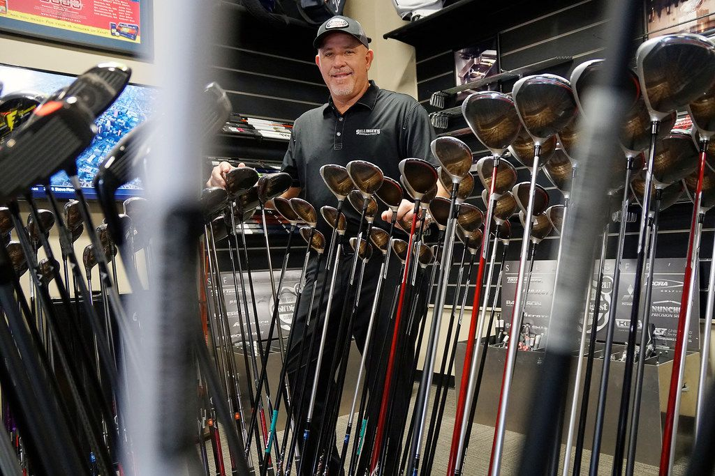 Art Sellinger at his store Sellinger's Power Golf in Roanoke, Texas on Friday, April 19, 2019. (Lawrence Jenkins/Special Contributor)