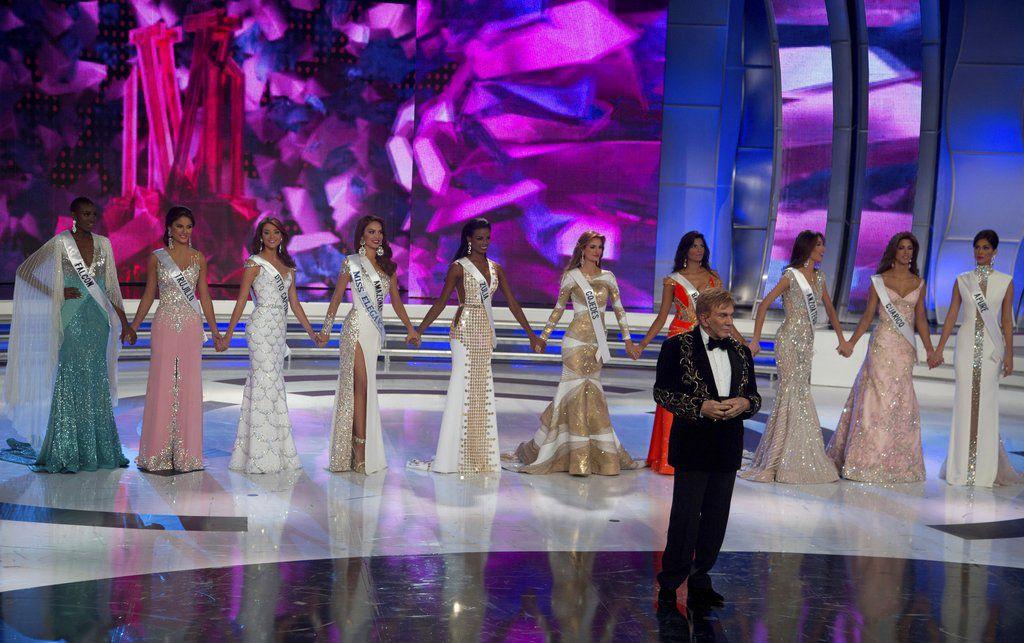 La Organización Miss Venezuela anunció una revisión interna el miércoles 21 de marzo del 2018, tras reportes de que exconcursantes supuestamente obtuvieron beneficios económicos por relaciones con figuras del gobierno. (AP Foto/Fernando Llano, Archivo)/ AP