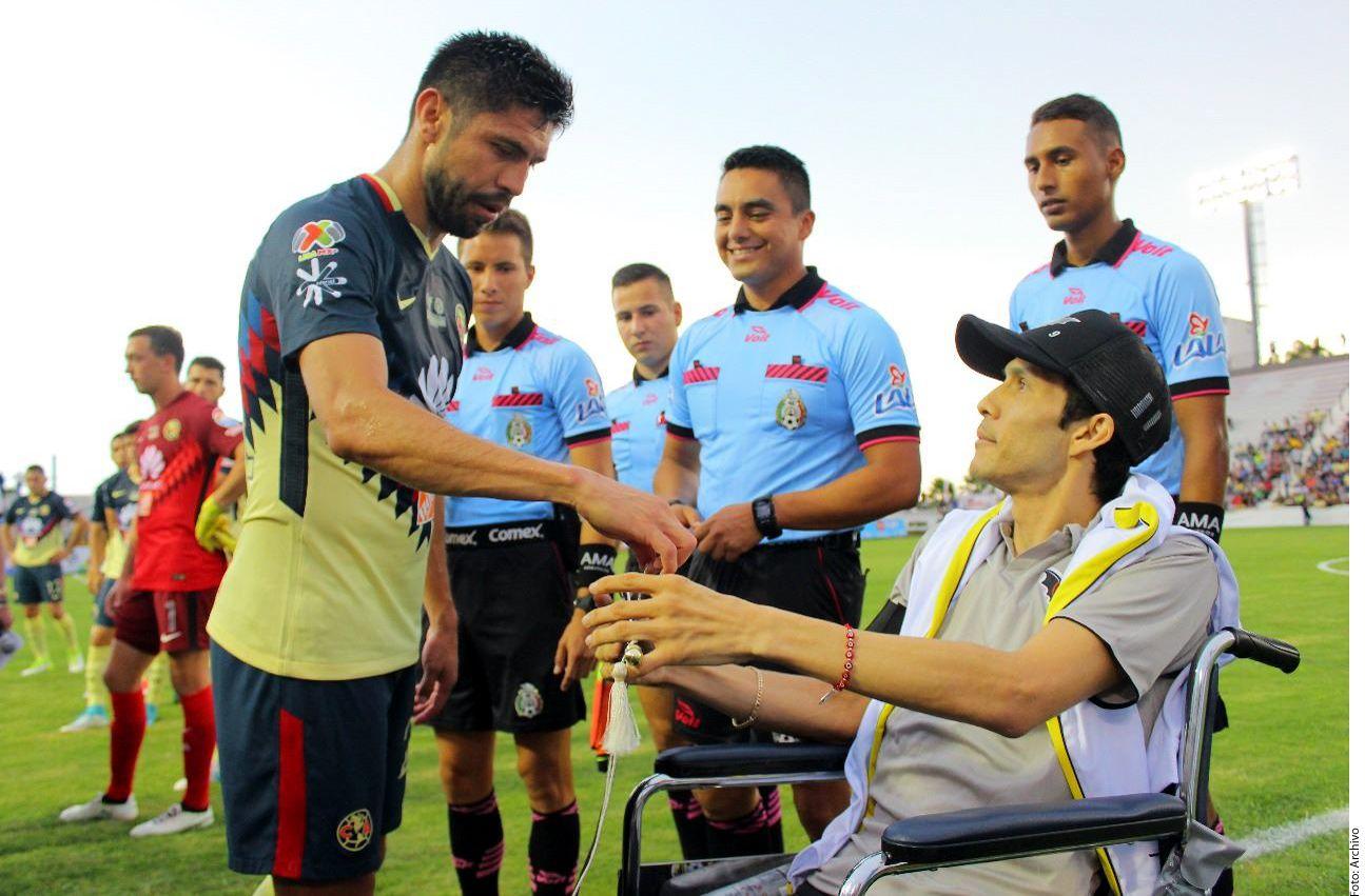 El América jugó un partido a beneficio de Ezequiel Orozco en el verano pasado. Falleció el viernes. Foto AGENCIA REFORMA