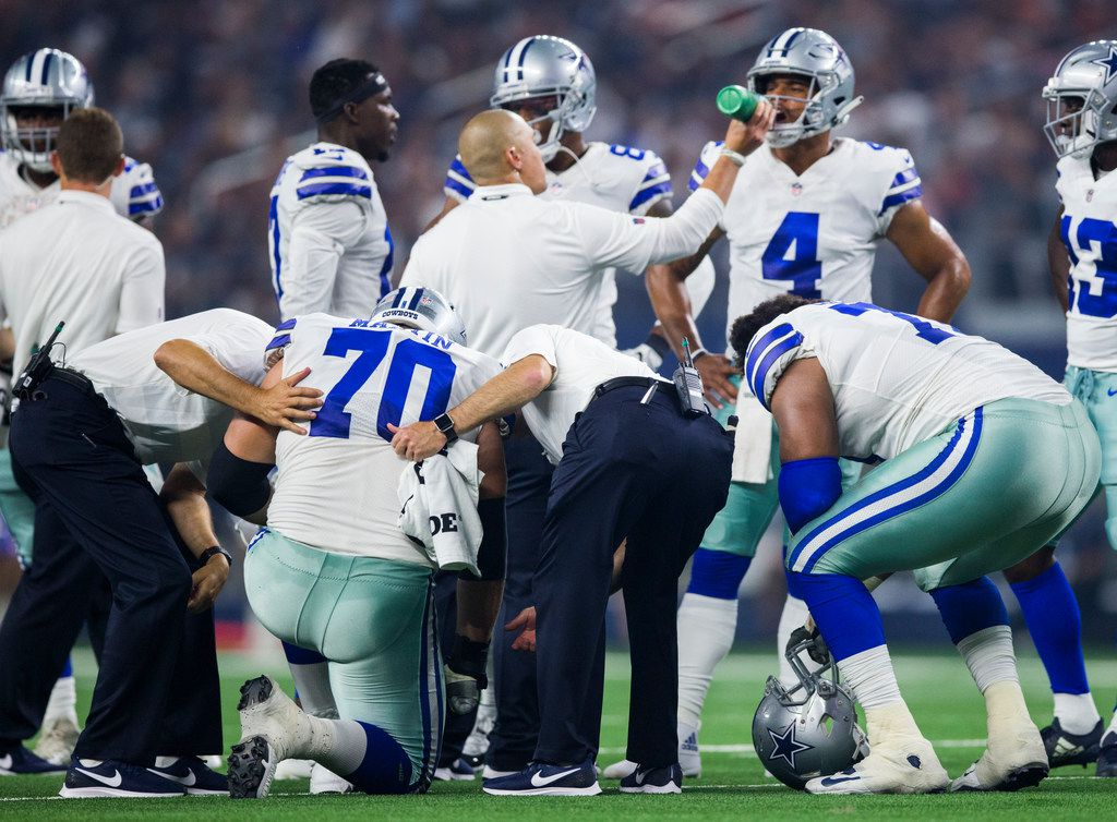 Source: Zack Martin's MRI reveals no significant injury to