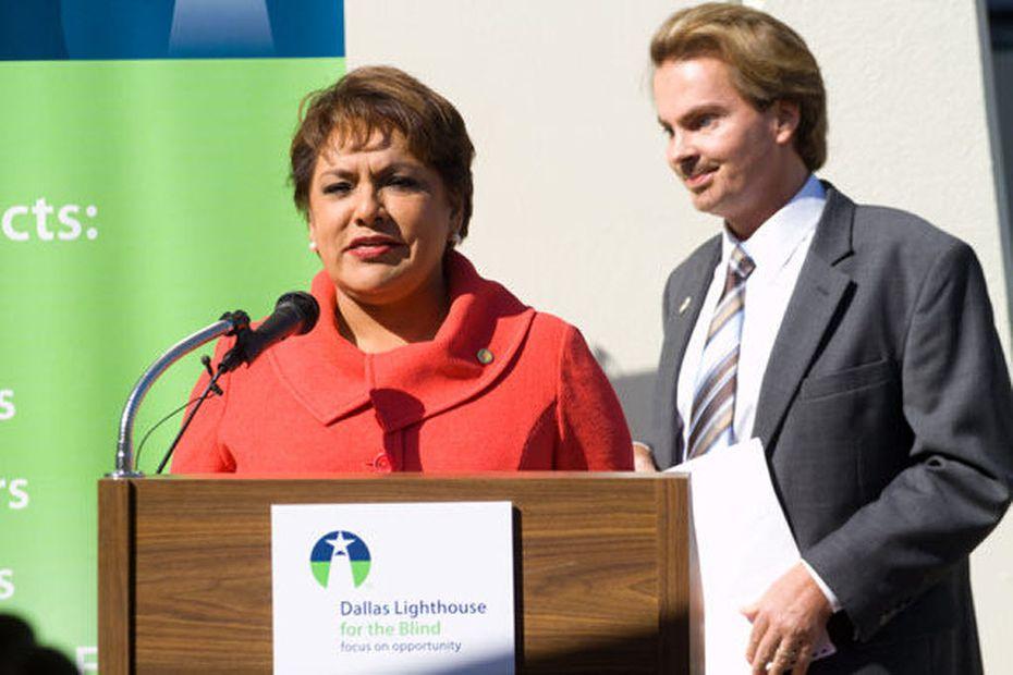 Pauline Medrano, Dallas County treasurer