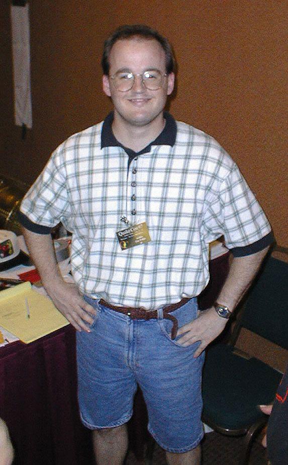 Tim Willits at QuakeCon 1997