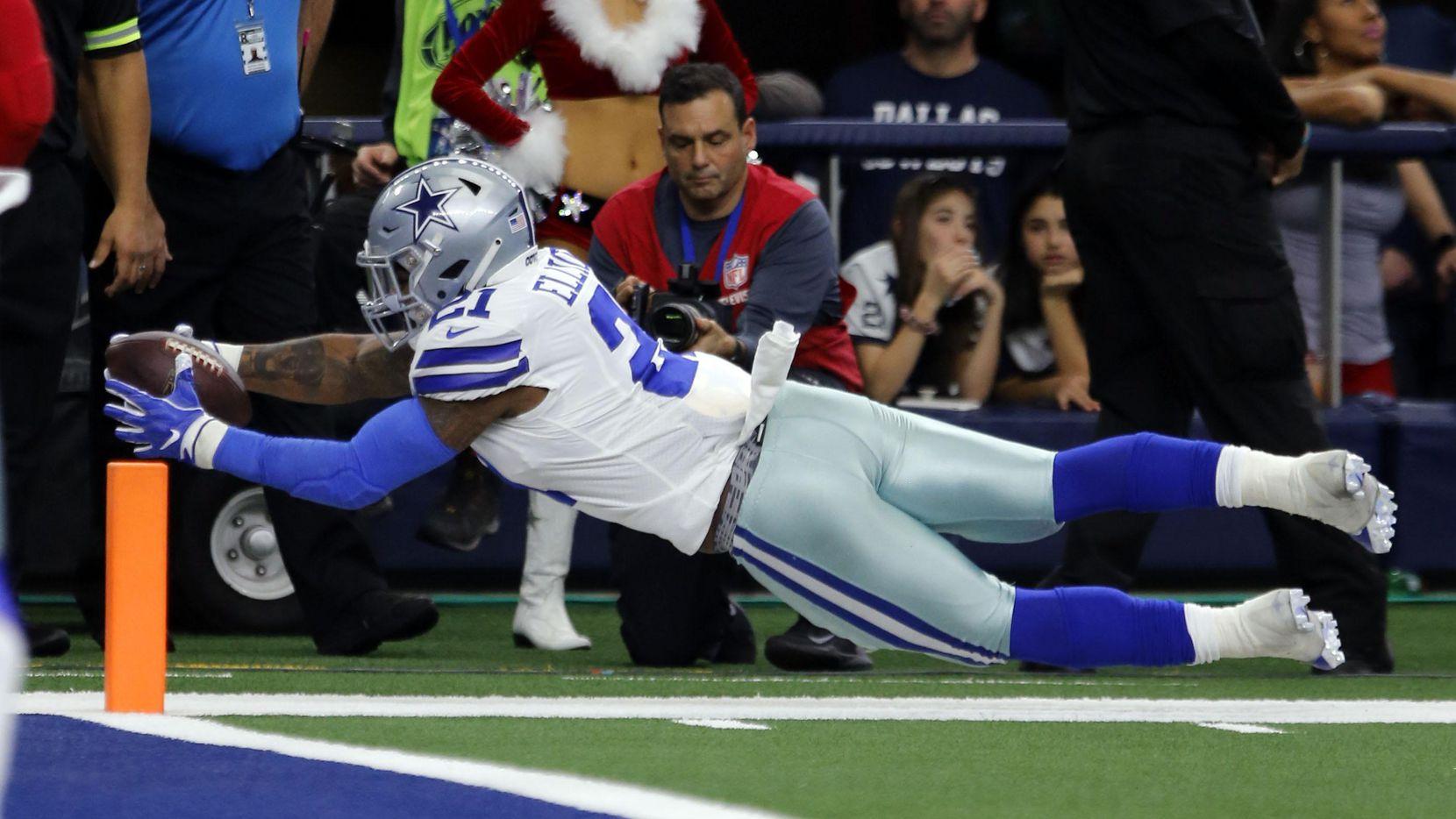 Ezekiel Elliott de los Cowboys podría ganar su segundo título de acarreos de la NFL este domingo.(John F. Rhodes)