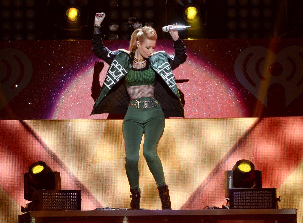 Iggy Azalea performed at Z100 Jingle Ball at Madison Square Garden on Dec. 12, 2014.