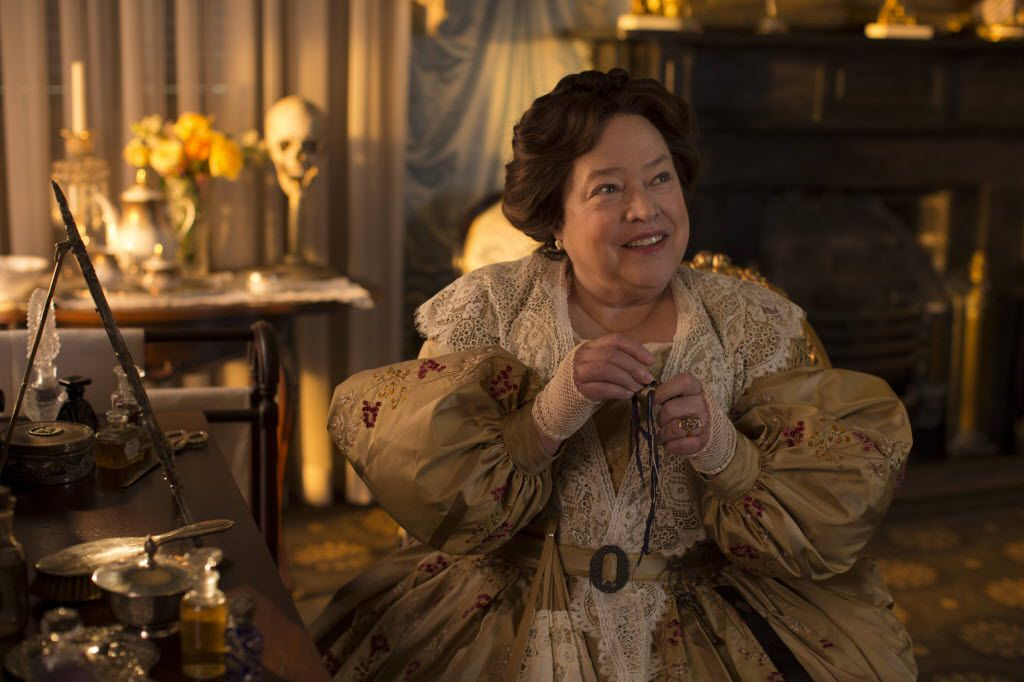 Oscar winner and Jack Clay student Kathy Bates as Madame LaLaurie in American Horror Story.