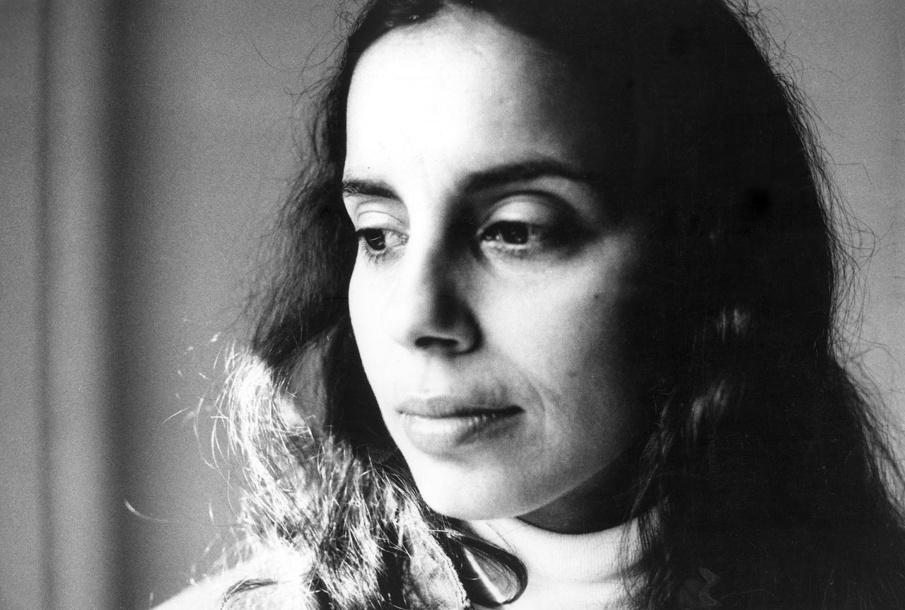 Retrato de Ana Mendieta, artista cubanoamericana, que murió en 1985.