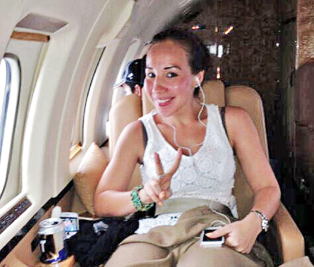 Xóchitl Tress, ex candidata del PAN a diputada federal, viajaba en jets privados. Foto AGENCIA REFORMA