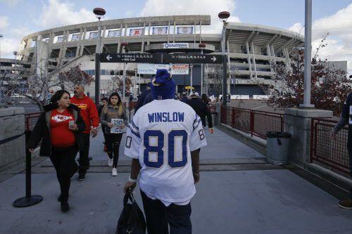 Qualcomm Stadium. Foto AP