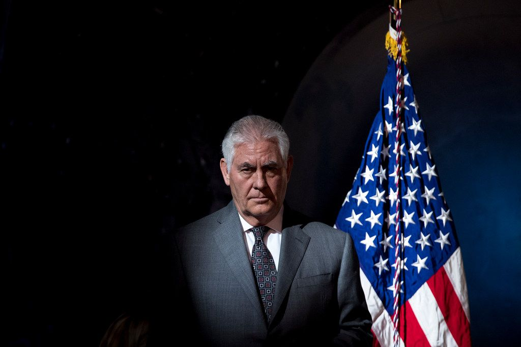 Secretary of State Rex Tillerson has reportedly long been at odds with President Donald Trump.