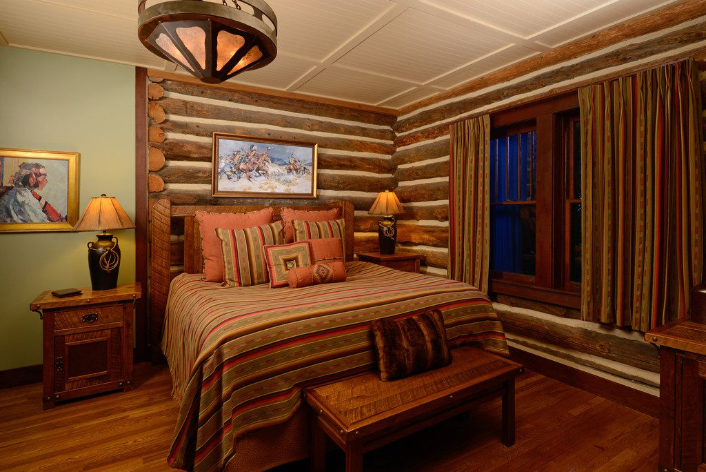 At the Ranch at Emerald Valley near Colorado Springs, the 10 guest cabins are outfitted with modern amenities.