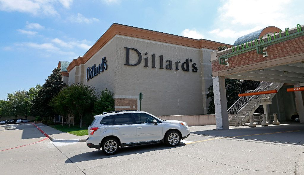 An exterior shot of the Dillard's store at The Shops at Willow Bend in Plano, Texas, Monday, March 27, 2017. (Jae S. Lee/The Dallas Morning News)