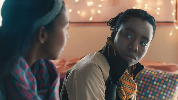 """Aasha Davis (left) stars as """"Bina"""" and Adepero Oduye (right) stars as """"Alike"""" in Focus Features release'a """"Pariah."""""""