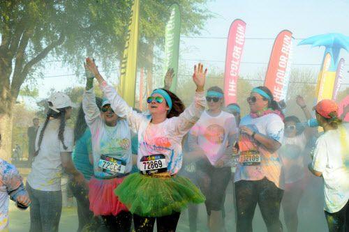 The Color Run se corre este fin de semana en Dallas. Foto DMN