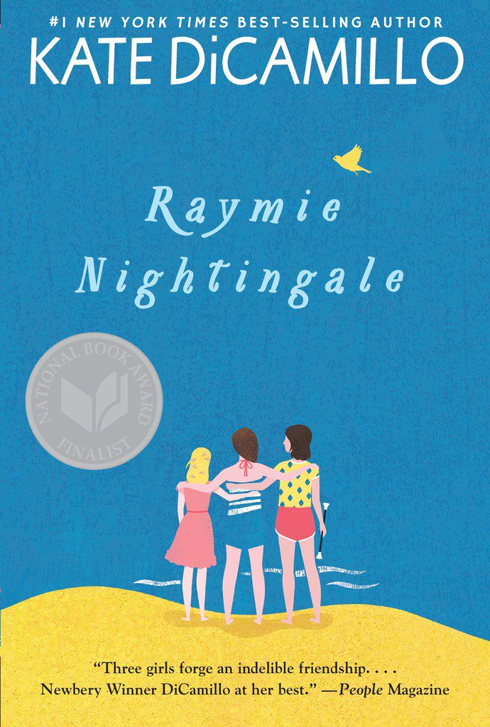 Raymie Nightingale is written by two-time Newbery Medal-winner Kate DiCamillo.